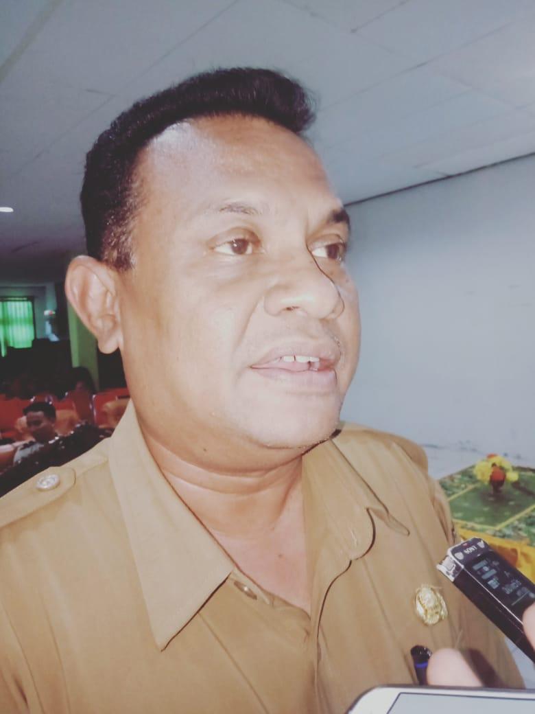 Kepala Bidang Pencegahan dan Pengealian Penyakit  Provinsi Papua, dr.Aron Rumainum,saat di wawacari (ft/Mar)